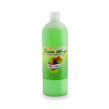 Jabon Green soap INK FIXX para la limpieza del tattoo 500 ml.