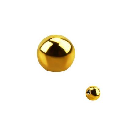 Bolas Acero Gold 1.2mm -1.6mm
