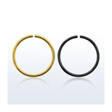 Piercing Aro cerrado color 1.0mm