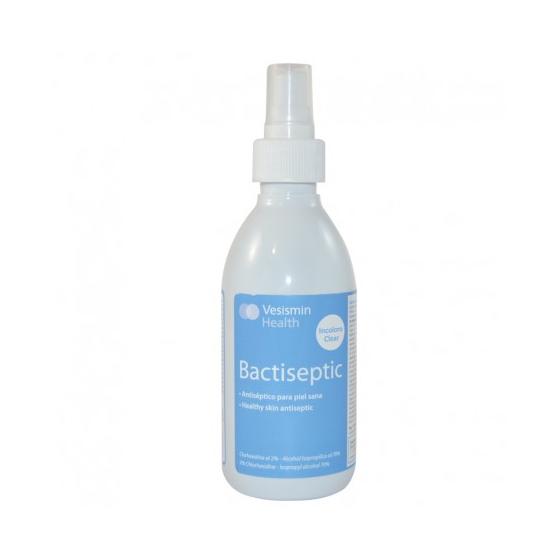 Bactiseptic 250 ml. con spray - Alta desinfección para piel