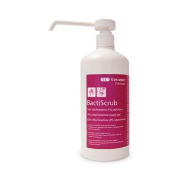 Bactiscrub 500 ml - Jabon desinfección piel en zonas sensibles
