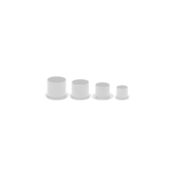 1000 Cups con base medianos (13 mm)
