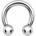 Circular barbell con bolas 6.5 mm.