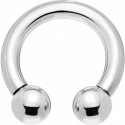 Circular barbell con bolas 2.5 mm.