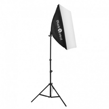 LIGHT STAND - SOFT BOX - Pantalla de luz con pie