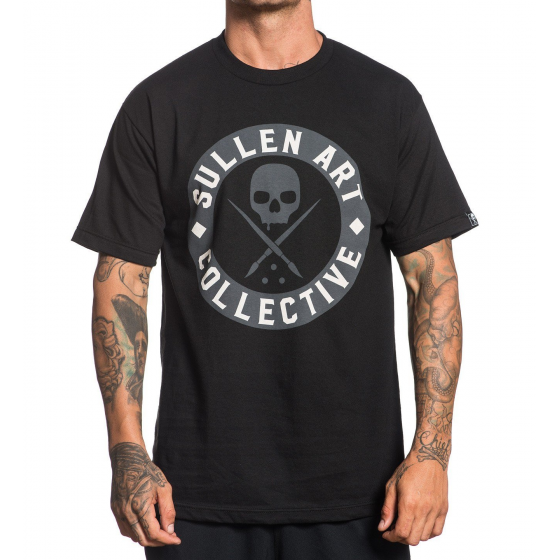 CAMISETA SULLEN EVERDAY BADGE BLACK