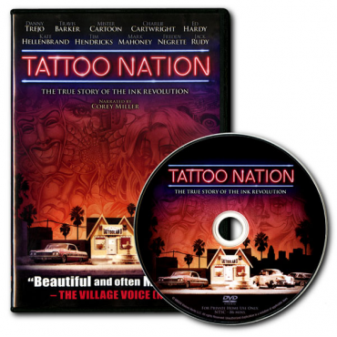 DVD - TATTOO NATION - La historia del tatuaje