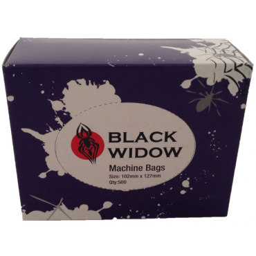 Bolsa cubre-máquina Black Widow