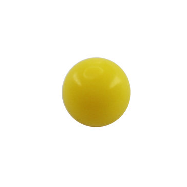 Bola acrilico amarillo 1.2mm - 1.6mm