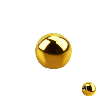 Bolas Acero Gold 1.2mm -1.6mm