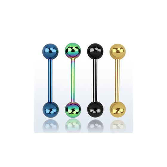 Piercing Barbell color 1.6 mm