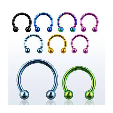 Piercing Circular Barbell color 1.2mm
