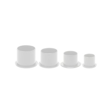 1000 Cups con base grandes (17 mm)