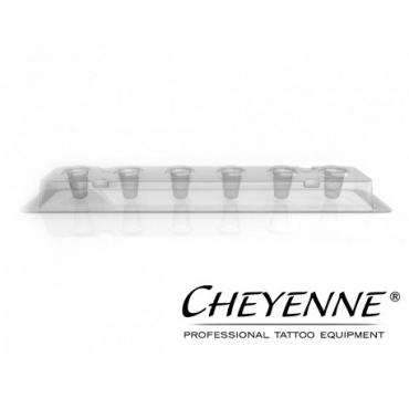 Portacapsulas desechable Cheyenne 3 de 13 mm - 80 unid.