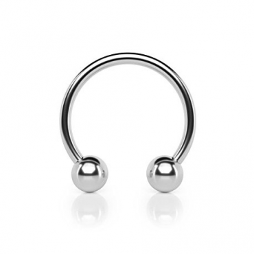 Circular barbell con bolas 1.2 mm.