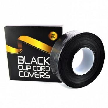 Rollo Clip cord negro 300m.