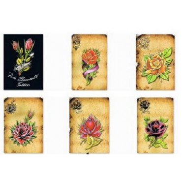 LIBRO TATTOO FLOWER