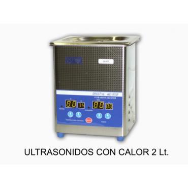 Lavadora Ultrasonidos 2 l.