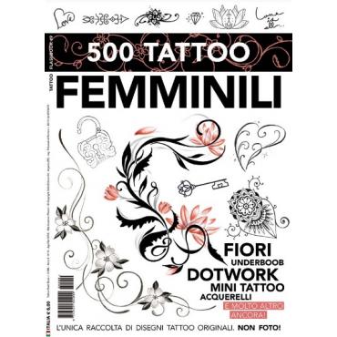 Libro 500 Tatuajes Femeninos
