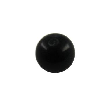 Bola acrilico negra