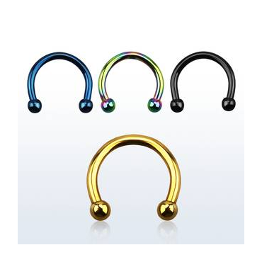 Piercing Circular Barbell color 1.6mm