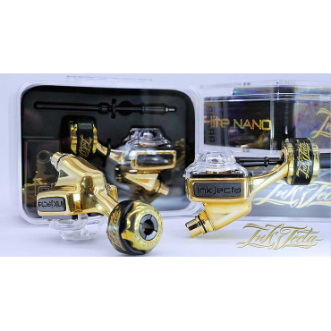 Inkjecta Flite Nano Elite - Limited Edition Polished Brass
