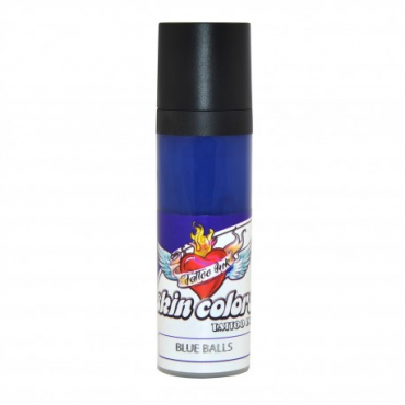 Tinta Skin Colors Blue Balls 30 ml.