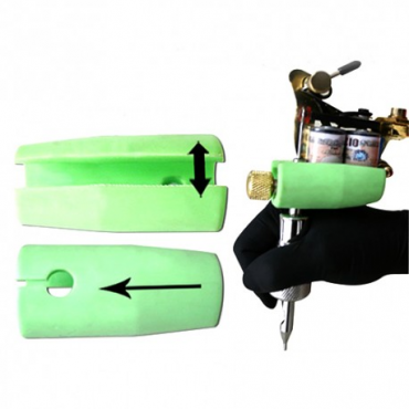 Protector de goma para máquina y mano